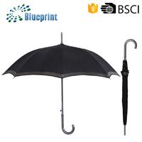 Aluminum Stick Promotional Retail Umbrella Custom Design Wiht Logo