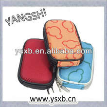 Outdoor small hard shell eva digital compact camera fashion travel case bags pouch for nikon/sony/canon still camera