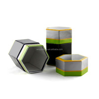 Hexagonal Paper Gift Box for Gift and Craft Packaging with Special Shape