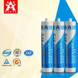 All glass silicone sealant clear FF-5555