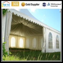 outdoor ceremony wedding event PVC fairs easy open gazebo,outdoor gazebo,aluminum roof gazebo