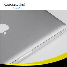 laptop metallic silver skin for Macbook