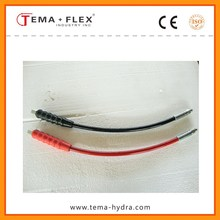 Flexible Smooth Wrapped High Temperature High Pressure Steam Rubber Hose