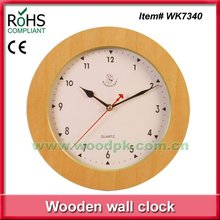 2012 Hot items craft (WK7340 ) country style wall clocks