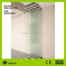 sliding glass room dividers for resturant, shop