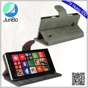 Vendas quentes À Prova D' Água Caso de Telefone para o Nokia 930, Caso Capa de Couro da aleta para Nokia Lumia 930