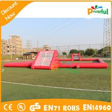 Entrenamiento de fútbol maniquí, fútbol burbuja inflable campo venta