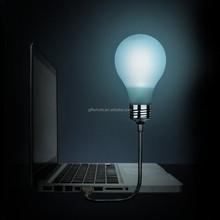 Popular usb gadgets 60mm bulb light usb led laptop bubble lamp