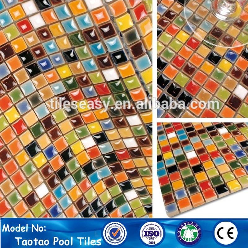 Cheap Antiqued Alibaba Stock 10mm Ceramic Mosaic Art Tiles For Sale