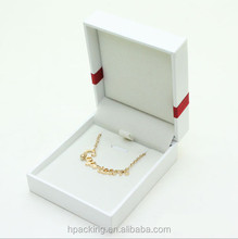 custom logo printed jewelry boxes for pendant HT24