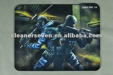 2015 new wholesale natural rubber gaming custom mouse pad