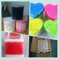 China supplier!cotton buds making machine! New condition plastic bag Cotton Bud /swab Automatic packaging machine