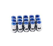 20x Ball Radius OEM Rim Wheel Forged Lug Nuts 12x1.5 M12 P1.5 Blue
