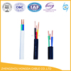 450/750V PVC insulation sheathed flat wire power cable twin and earth wire