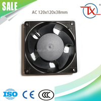 high quality 120*120*38 industrial ac mini air cooling axial fans