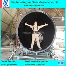 2400mm HDPE Ineer Rib Enhanced Corrugated Pipe Making Machine