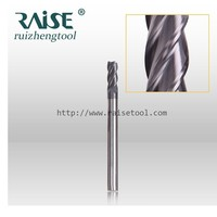 HRC55 Cutting tools Carbide Standard Length End Mill /Milling Tool with Straight Shank