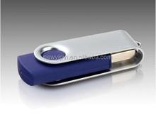4GB Mini Pendant Metal USB 2.0 Flash Memory Drive Stick Pen thumb Swivel