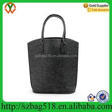 Environmentally Friendly grey felt tote shopping bag