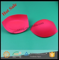 Factory supply push up bra cup for lingerie