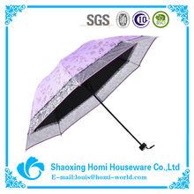 Beautiful Flower Shape Lace Folding Umbrella UV Umbrella Company