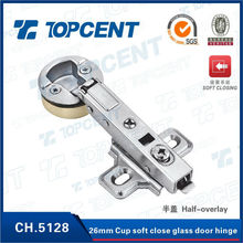 26mm cup hydraulic glass door cabinet cupboard hinge for furniture