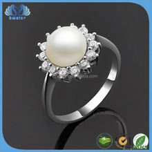 Best Selling Products 2015 Fashion Pearl Moti Ring