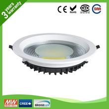 Promotion sales ip65 24w cob led downlight, quick delivery CE RoHs led downlight