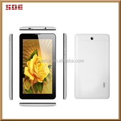 """MTK6572 quad core tablet, Android 4.4 tablet 7 inch, 7"""" tablet 3G android phone calling support"""