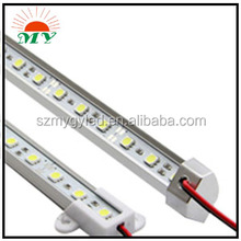Fashionable led rigid strip 7020 72leds/m with CE RoHS certification outdoor decoration/cabinet light/led rigid bar