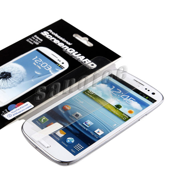 for Samsung Galaxy S4 screen protector with design