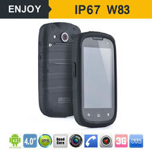 4.0 inch IP67 waterproof mobile phone with 3g wifi dual sim MTK android phone