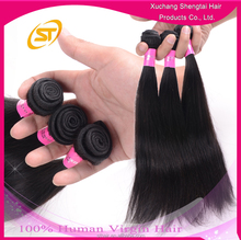 Unprocessed Brazilian100% Human Virgin Hair Extension, Hot Sale Brazilian Virgin Hair Extension