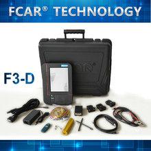 sirve para diagnosticar los sistema de control electrónico delmotor grande, FCAR F3-D los vehículos pesados escáner auto