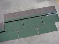 Waterproof Roofing Material , Single layer Asphalt Shingles