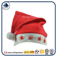 New Style Popular Santa Hat with Five-pointed Star