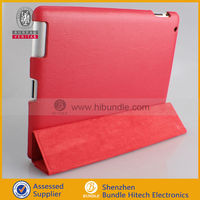 full cover protective leather case for ipad with stand
