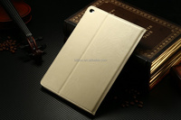 Leather phone case for apple ipad 6, for ipad 6 leather cover with holder ,for ipad air 2 case