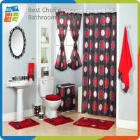 Multifunctional fishing shower curtain