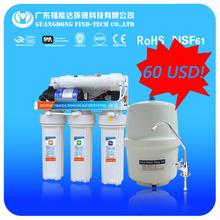 El sistema de filtro de agua