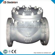 API6D Vertical Installation Of Swing Check Valve/Non Return Check Valve