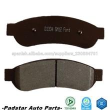 Partes de automóviles estadounidenses Opel Kadett repuestos Ford Focus pastillas de freno D1334