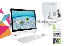 Hot sale cheap 21.5inch mini pc all in one desktop computer /all in one barebone system for home office application