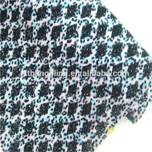 Vente en gros la mode de cristal strass hot fix mesh, les femmes sexy 888 maille strass cristal