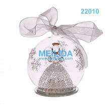 LED light Glass Christmas Ball