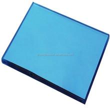 goldenshine supply 4-12mm coloured tinted reflective float glass /Dark Blue Reflective Glass,Blue Reflective