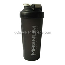 600ml Shake protein water bottle, shaker bottle ,customized water bottle
