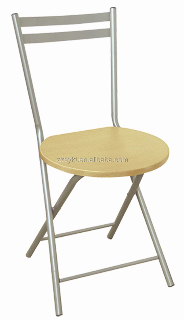 China Folding Wooden Dining Chair With Metal Frame For Sale Buy Wooden Dini