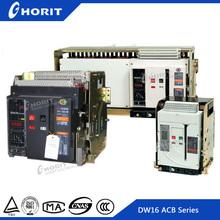 ISO9001 Factory 3P 4 Poles Intelligent Circuit Breaker Parts Fixed 50HZ 1250A,1600A,2500A,3200A,4000A Air Circuit Breaker