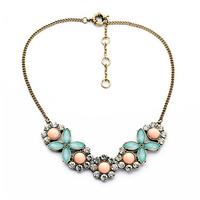 Women Chain Party Jewellery Popular Ladylike Enamel Necklace